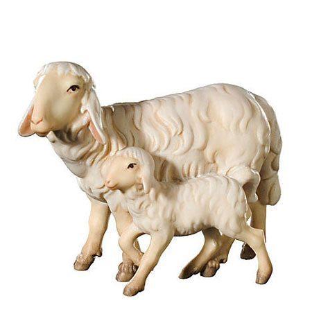 Royal nativity - Sheep with lamb