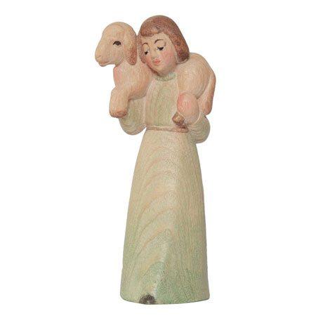 Spielkrippe - Hirte mit Schaf