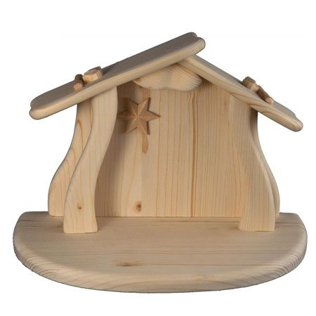 Playful nativity - Stable