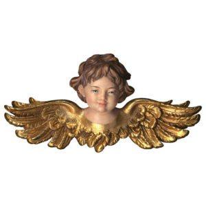 Angel head spread wings