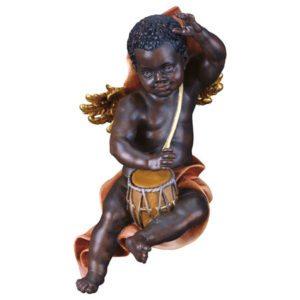 Cherub moor with drum
