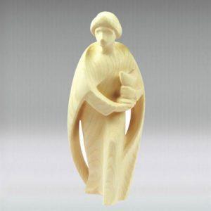 Wise man Caspar - Leonardo nativity