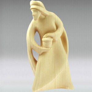 Wise man Balthasar - Leonardo nativity