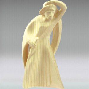 Shepherd looking - Leonardo nativity
