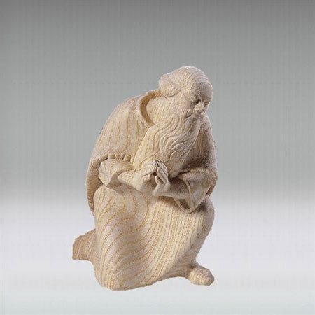 Shepherd kneeling - ROWI nativity