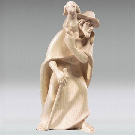 Shepherd sheep on shoulder - ROWI nativity