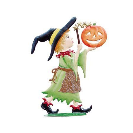 Halloween Magic - standing pewter ornament