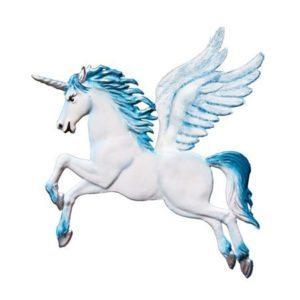 Pegasus - hanging pewter ornament