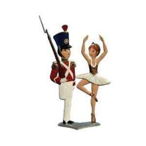 The Steadfast Tin Soldier - standing pewter ornament