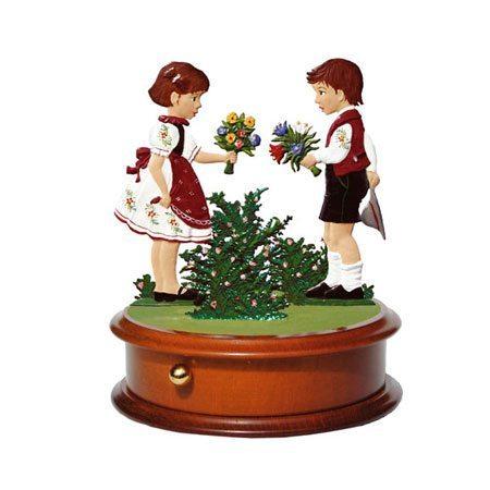 Frühlingsgrüße - Spieluhr