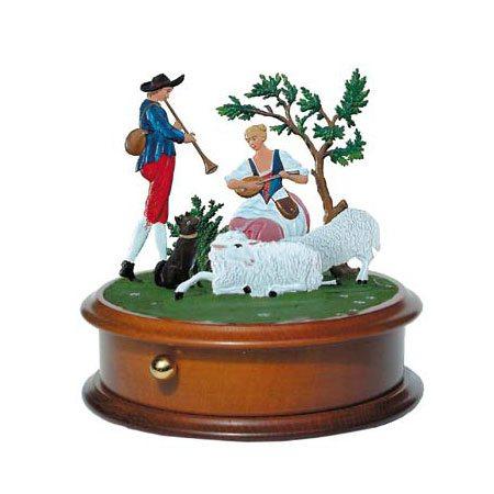 Sheep-farming - music box