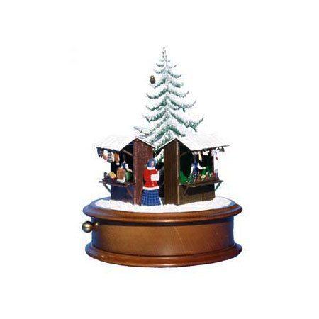 Christmas market - music box