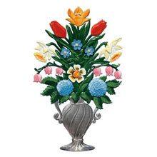 Blumenvasen Zinnfiguren