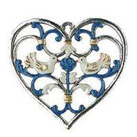 Herzen Zinnbilder
