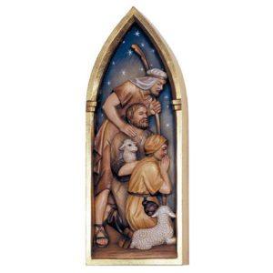 ANRI - Shepherds left side - Relief Nativity