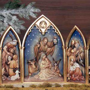 ANRI - Relief Nativity - Set