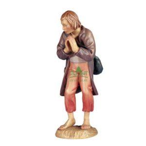 ANRI - Shepherd praying - Walter Bacher nativity