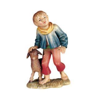 ANRI - Shepherd boy with lamb - Walter Bacher nativity