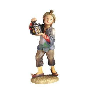 ANRI - Servant with lantern - Walter Bacher nativity