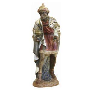 ANRI - Wise man Caspar - Karl Kuolt nativity Linden wood