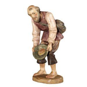 ANRI - Shepherd with hat - Karl Kuolt nativity Linden wood