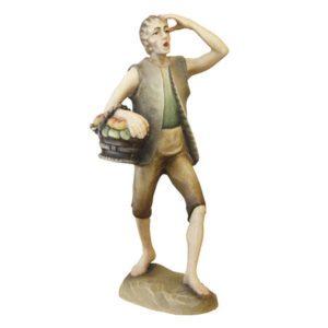 ANRI - Shepherd with fruitbasket  - Karl Kuolt nativity