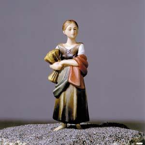 ANRI - Shepherdess with straw - Vinzent nativity