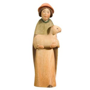 Playful nativity - Shepherd with lamb