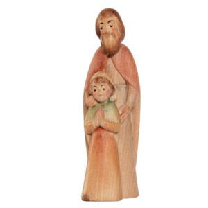 Playful nativity - Shepherd with child
