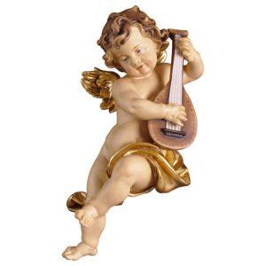Cherub with mandolin