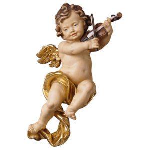 Cherub with violin